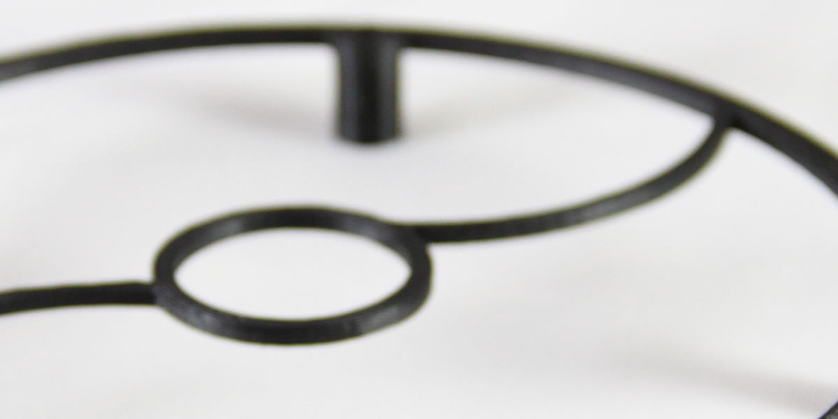 ultra close up of an acoustic pinpoint - isolated