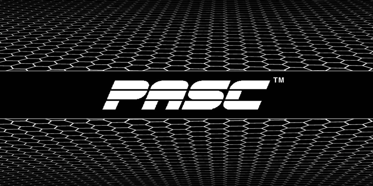 pasc logo and type face