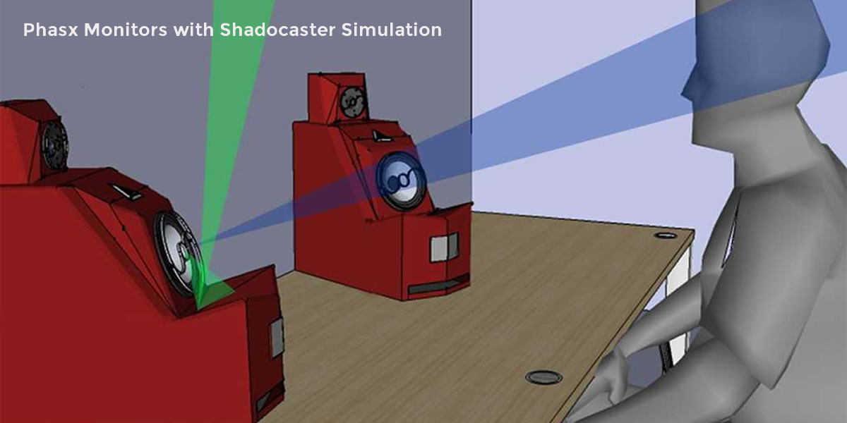 3d rendering - shadocaster eliminating the reflections from the desktop
